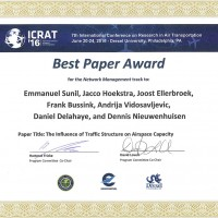 Picture of Best paper award for Emmanuel Sunil