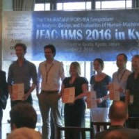 Picture of Frank Drop wins IFAC HMS Young Author Best Paper Award