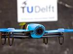 TU Delft second in first autonomous drone race