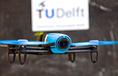 TU Delft second in first autonomous drone race