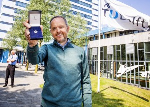 DELFT - Hoogleraar Max Mulder is Leermeester 2021. - FOTO GUUS SCHOONEWILLE